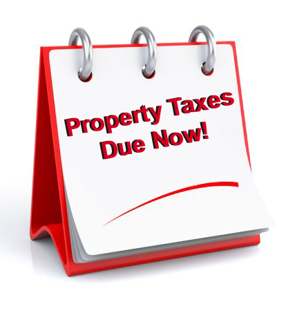 Secured Property Taxes Due on November 1st.