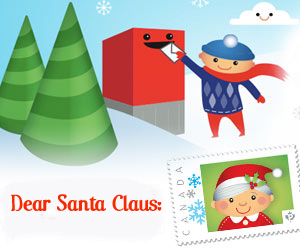 Write a Letter to SantaClaus!