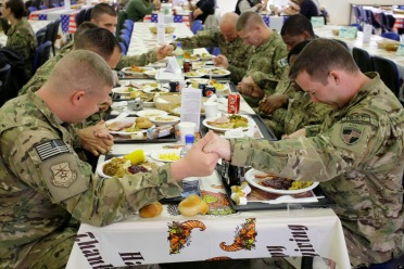 troops thanksgiving