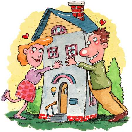 ARE YOU BUYING A HOME OR DATING IT?