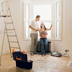 painting a home